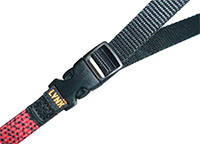 Buckles allow you to adjust the length of the Lynx strap, rather than carry umpteen bungee cords around