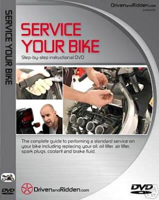 Instructional DVD- A Guide To Service Your Bike