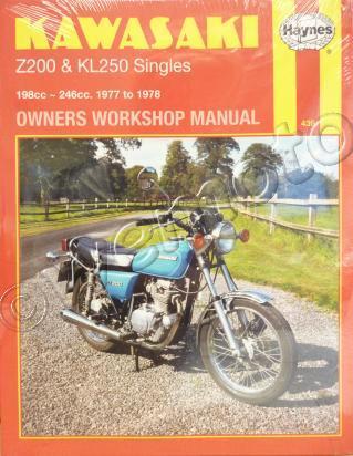 Kawasaki KL 250 C2 84 Manuale Haynes (In Inglese)
