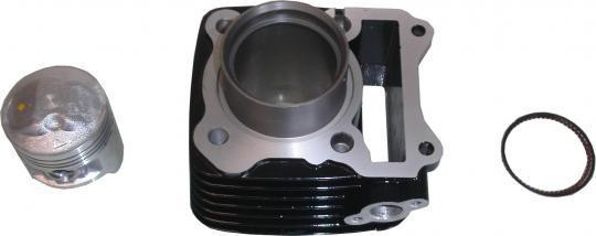 Suzuki GS 125 UY Kick Start 00 Barrel and Piston - Assembly