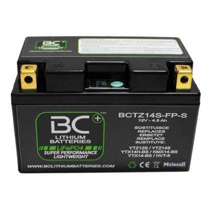 BMW R 1200 S (6 Inch rear rim) 06 Batteria al Litio LiFePO4 - BC Battery