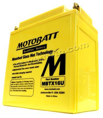 Kawasaki ZR 1100 A1-A2 Zephyr 91-93 Battery Motobatt Sealed High Torque