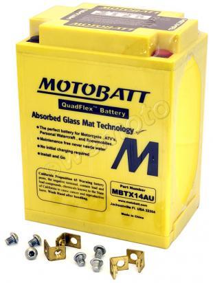 Aprilia Scarabeo 500 03-04 Batterie MOTOBATT Scellé - Sans Entretien - Haut Couple
