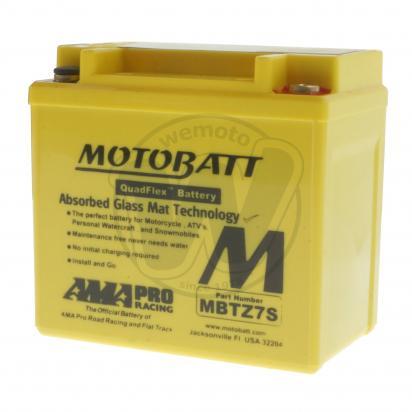 Honda ANF 125-8 Innova 08 Акумулятор Motobatt — не потребує обслуговування, високий пусковий струм