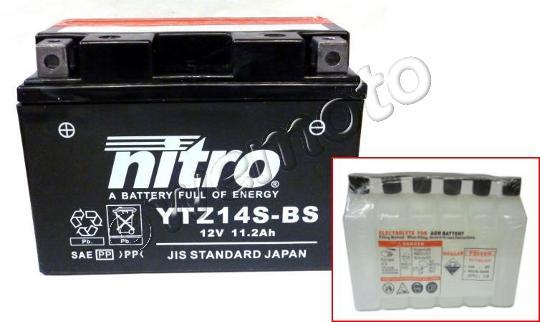 Benelli TNT 899 S 07-08 Batería Nitro