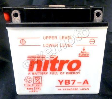Suzuki TU 125 X Super Classic 99 Batterie NITRO