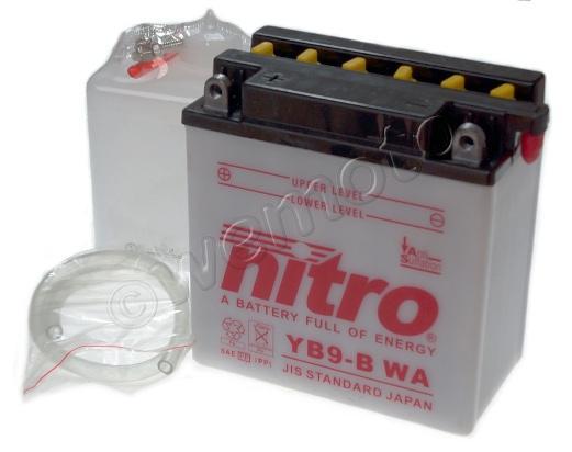 Daelim VL 125 Daystar 10-12 Baterie Nitro