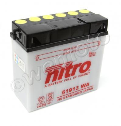 BMW R 1100 GS   NON-ABS 96-97 Baterie Nitro