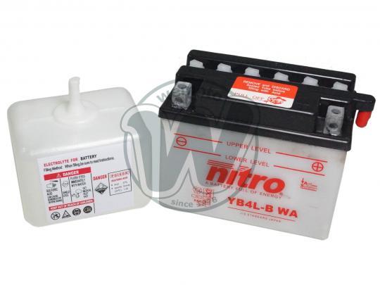 Cagiva Mito 50 98 Batería Nitro