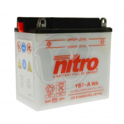 Sym XS 125 K 14 Baterie Nitro