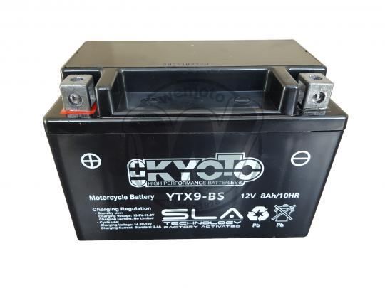 Derbi DXR 200 Quad (Front Disc Model) 06 Baterie Kyoto SLA AGM (uzavřená, bezúdržbová)
