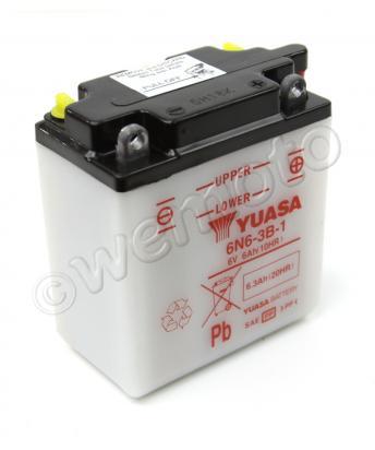 Yamaha DT 175 MX 82-83 Batteria Yuasa