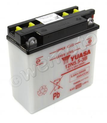 Gilera 200 RTX 85 Batteria Yuasa