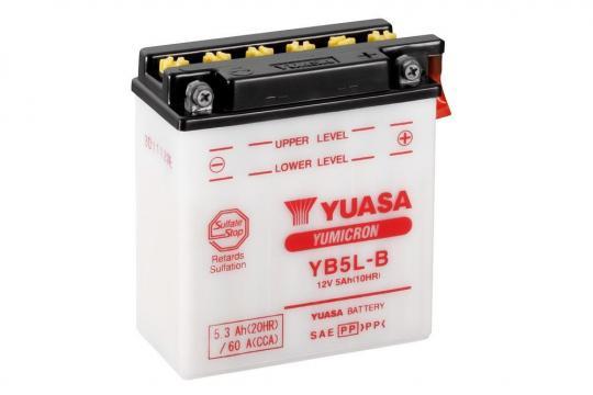 Yamaha tzr 125 87 battery yuasa parts at wemoto the uk 39 s for Yamaha motorcycle batteries