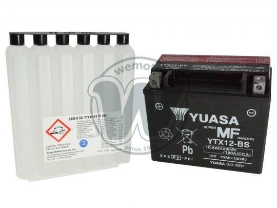 Yamaha TRX 850 96 Battery Yuasa