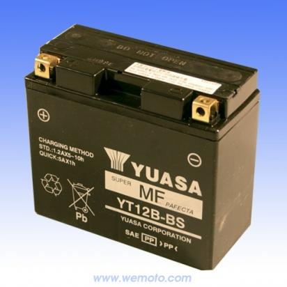 Yuasa Batteries on Ducati 800 Ss 03 05 Battery Yuasa Parts At Wemoto   The Uk S No 1 On