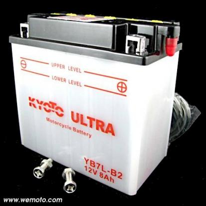 Yamaha SR 500 79-83 Baterie Kyoto