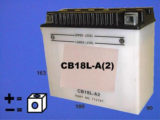 BMW R 45 T 80-85 Battery Pattern