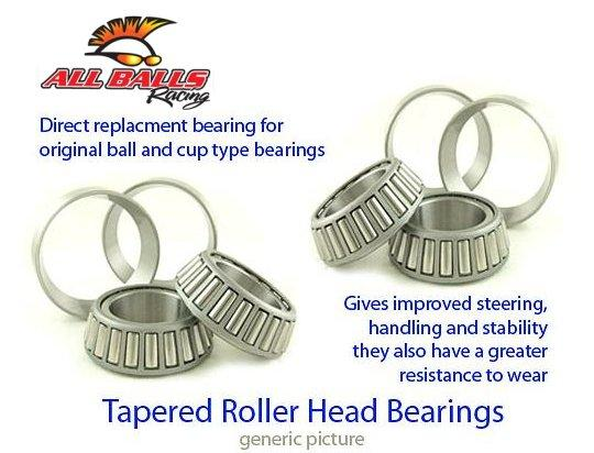 Kawasaki GPZ 550 A1-A3 (ZX 550 A1-A3) 84-86 Tapered Headrace Top Bearing