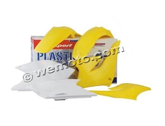 Complete Plastics Kit Polisport- Suzuki RM 125/250 (01-10) - Yellow
