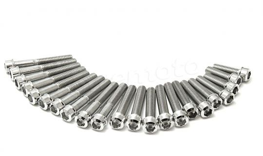 Honda ANF 125-4 Innova 04 Stainless Steel - Allen Bolt Engine Set
