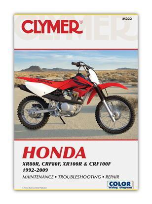 Honda XR 100 R 1/2/3 01-03 Manual Clymer