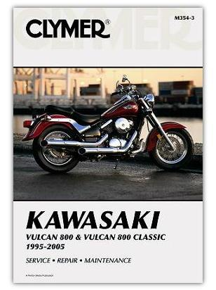 Kawasaki VN 800 A3/A4 97-98 Manual Clymer