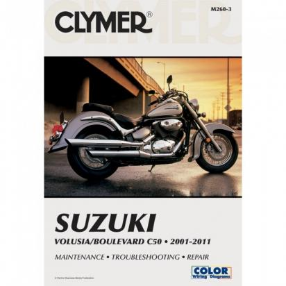 Suzuki VL 800 K1/K2/K3 Intruder 01-03 Manual Clymer