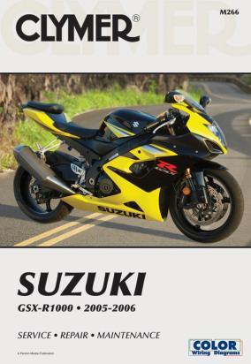 Suzuki GSXR 1000 K5 05 Manual Clymer
