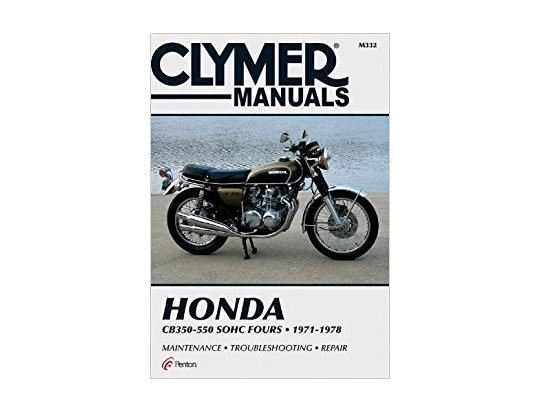 Honda cb 550 f f1 f2 75 80 manuel clymer attention en for Sur la table et 85 manual