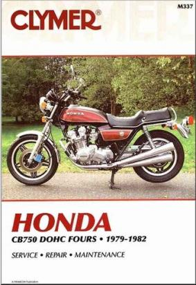 Honda CB 750 KZ 79-82 Manual Clymer