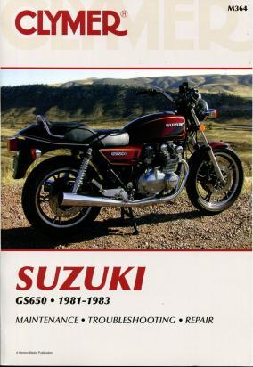 Suzuki GS 650 GTX/GTZ 81-84 Manual Clymer