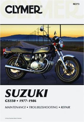 Suzuki GS 550 DB/DC 77-78 Manual Clymer