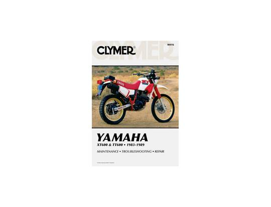 yamaha xt 600 43f 86 manuale clymer in inglese ricambi. Black Bedroom Furniture Sets. Home Design Ideas