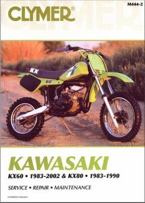 Kawasaki KX 80 E1 83 Manuál - Clymer (v angličtině)