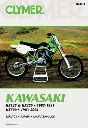 Kawasaki KX 500 E8 96 Manual Clymer