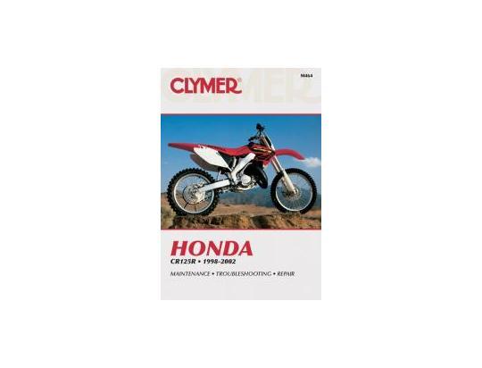 Honda cr 125 r1 01 manuel clymer attention en anglais for Sur la table et 85 manual