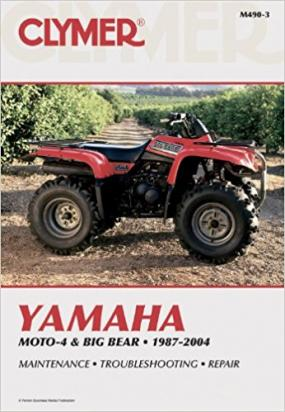 Yamaha YFM 350 FWH Big Bear 95-96 Manuale Clymer (In Inglese)