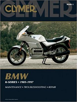 BMW K 100 LT   (Non ABS 8 valve model) 86-88 Manual Clymer