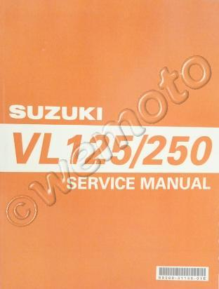 workshop service manual suzuki vl125 250 intruder rh wemoto com au suzuki vl 250 workshop manual suzuki vl 250 owners manual