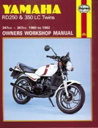 Yamaha RD 250 LC 80-82 Manuale Haynes (In Inglese)