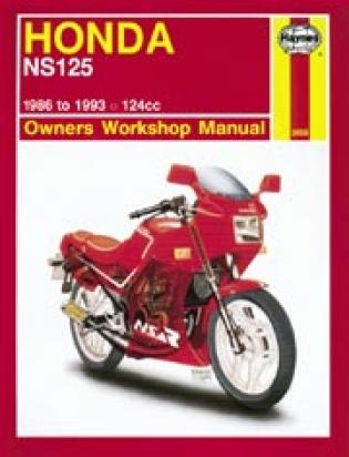 Honda NS 125 RH/RK/RL 88-93 Manual Haynes