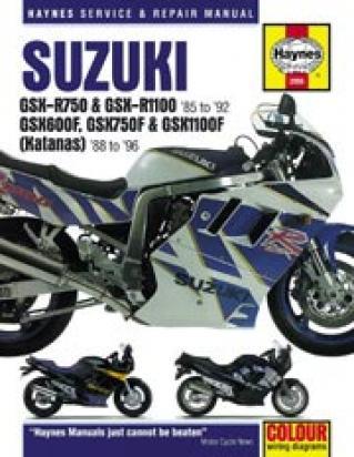 Suzuki GSXR 750 M Slingshot 91 Manual Haynes
