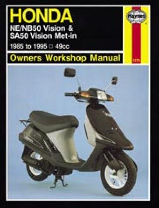 Honda ne 50 mf mg vision 86 90 manuel haynes attention for Nelson honda el monte