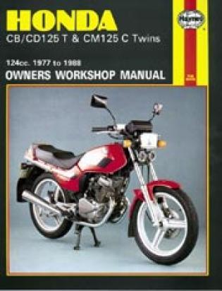 Honda CM 125 CF 84-91 Manual Haynes