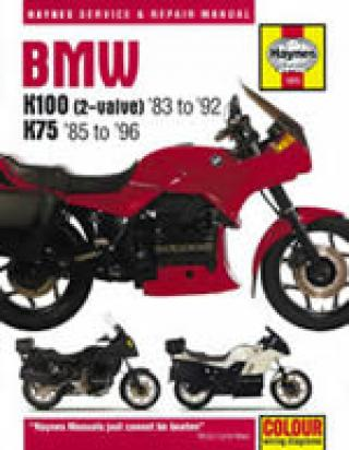 BMW K 100 LT   (Non ABS 8 valve model) 86-88 Manual Haynes