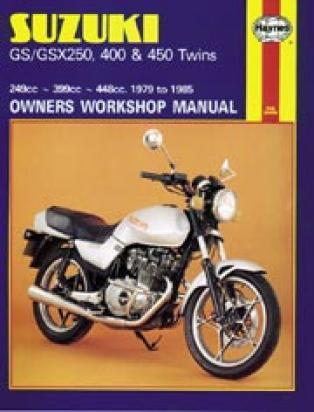Suzuki GS 400 LX 81 Manual Haynes