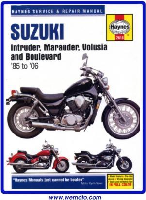 Suzuki VL 800 K1/K2/K3 Intruder 01-03 Manual Haynes