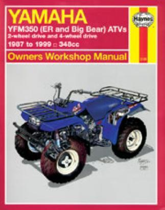 Yamaha YFM 350 FWH Big Bear 95-96 Manuale Haynes (In Inglese)