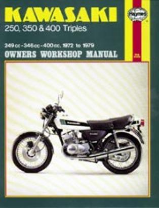 Kawasaki KH 250 B4-B5 80-82 Manual Haynes